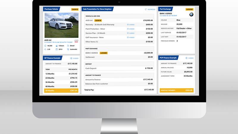 Deal & Present Screen