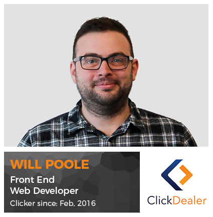 Meet the Clickers - Will Poole