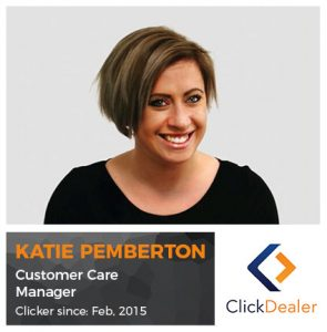 Meet the Clickers - Katie