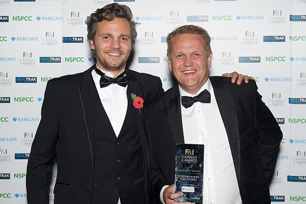 Ollie Moxham Shaun Harris award