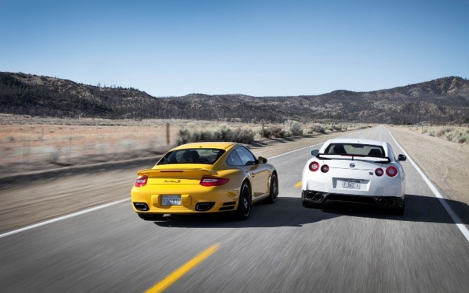 Nissan Vs Porsche