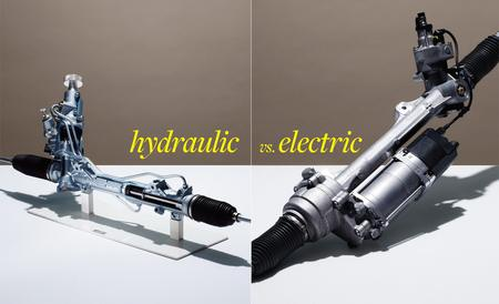 Hydraulic vs electric steering