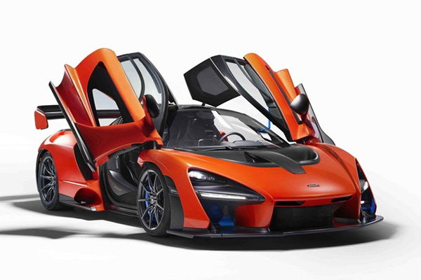 The Greatly Anticipated McLaren Senna