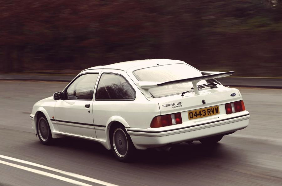 Ford Sierra Cosworth RS rear end feature