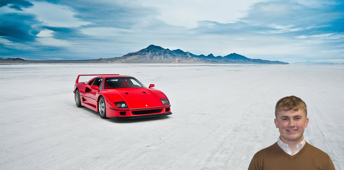Analogue Supercars Ferrari F40