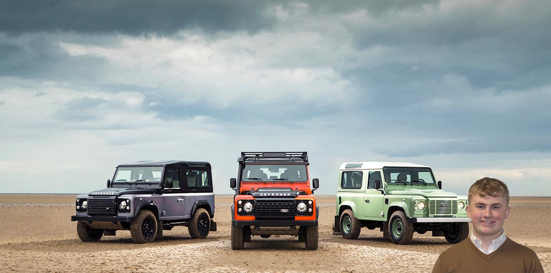 Alex Baker Land Rover Defender