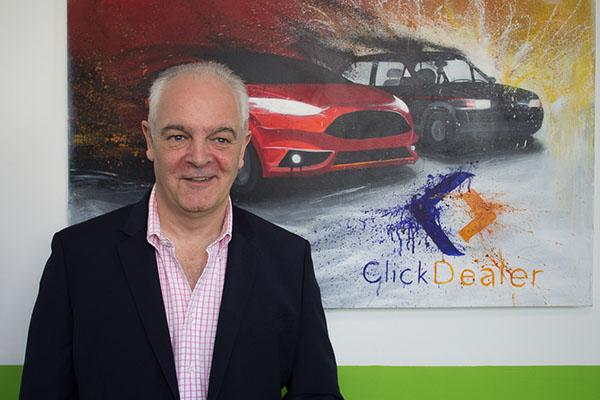 Click Dealer Managing Director Gerry Moxham Entrepreneur Award