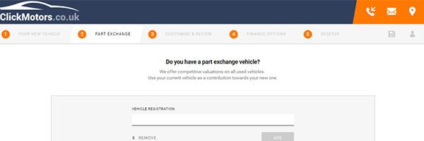 Click Dealer ClickEngage Part Exchange