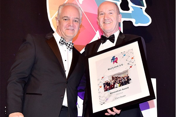 gerry moxham sentinel business awards
