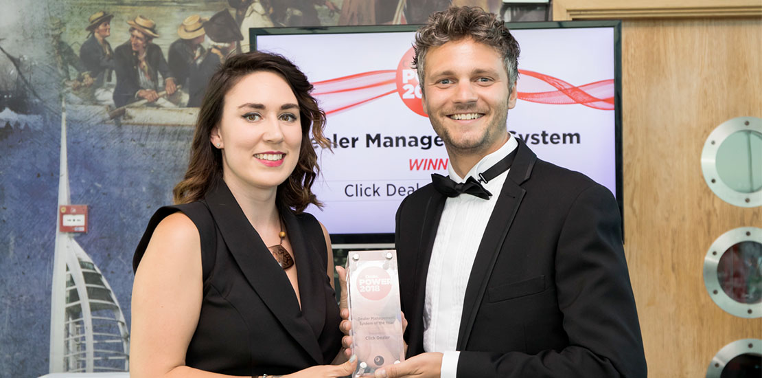 Ollie Moxham Car Dealer Power Awards Rebecca Chaplin