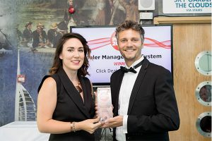 Ollie Moxham Car Dealer Power Awards Rebecca Chaplin