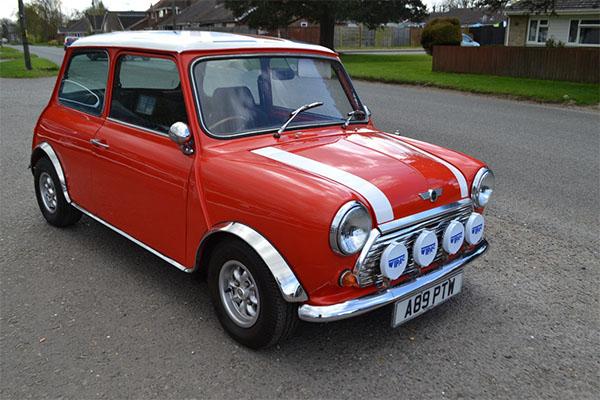 Mini british cars
