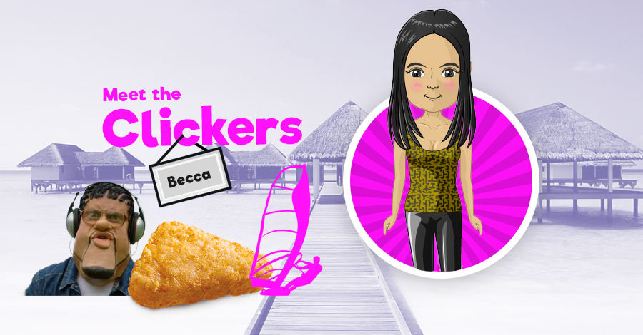 Becca Hermitt; Mee the Clickers