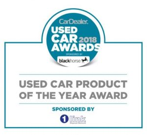 Used Car Product of the Year Award