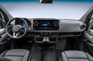 Mercedes Sprinter interior