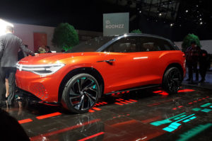 VW ID Roomzz 7-seat SUV at the 2019 Shanghai Motor Show