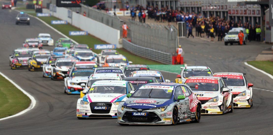 Race 3 Donington Park BTCC