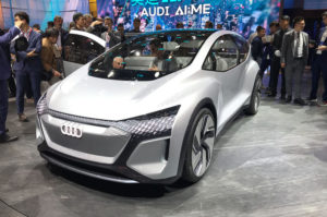 Audi AI:ME Concept at the 2019 Shanghai Motor Show