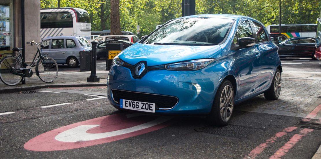 Renault ZOE Electric Car EVs