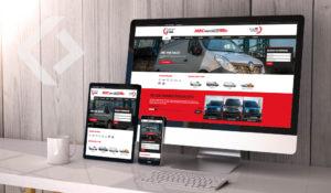Van Dealer Website